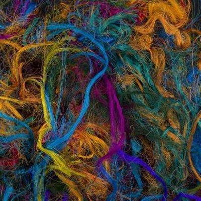 100% Sari Silk Fibres