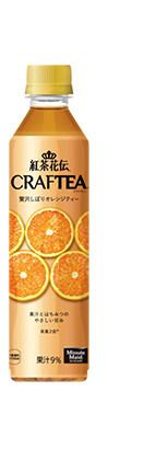 Coca Cola Japan, Koucha kaden, Kochakaden Craftea, Honey  Orange, 410ml