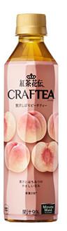 Coca Cola Japan,  Koucha kaden, Kochakaden Craftea, Honey  Peach, 410ml