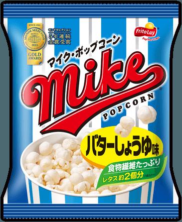 "Mike Popcorn, Pop Corn ""Butter Soy Sauce Flaovr"" 50g"