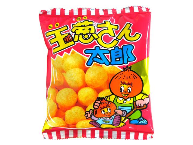 """Kado's Taro Series """"Tamanegi-San Taro"""", Crispy Corn Snack, 15g"""