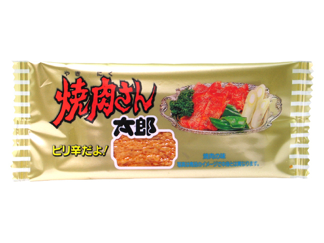 "Kado's Taro Series""Yakiniku san taro"", Seafood and squid snack,7g"
