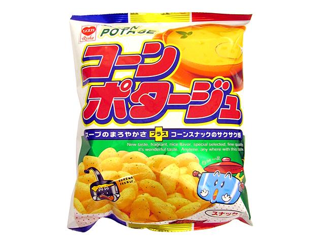 "Riska ""Corn Potage Snack"", Crispy Corn Snack, 75g"