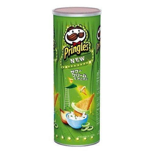 """Pringles """"Sour Cream & Onion Flavor"""", 110g"""