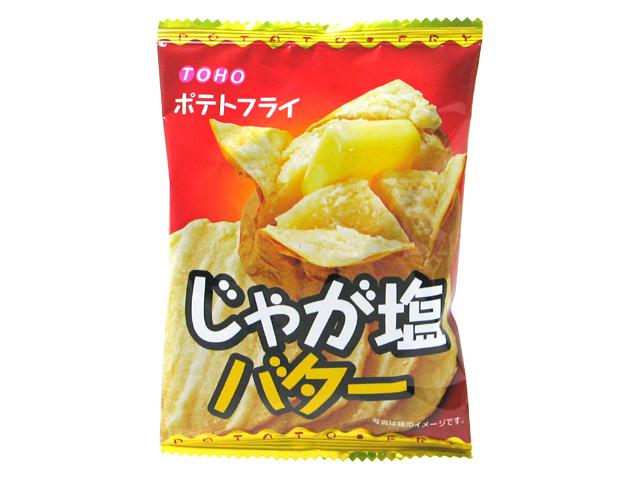 "Toho ""Jagashio Butter"", Fried Potato Snack, 11g"