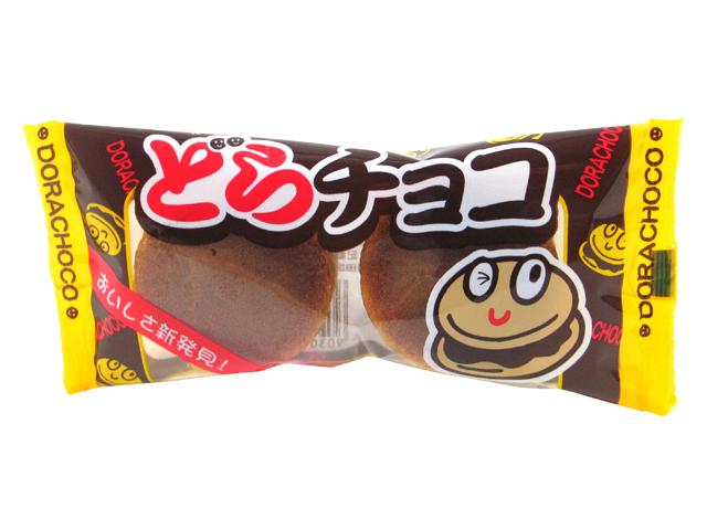 """Yaokin """"Dora Choco"""", Dorayaki Chocolate Snadwiches, 27g"""