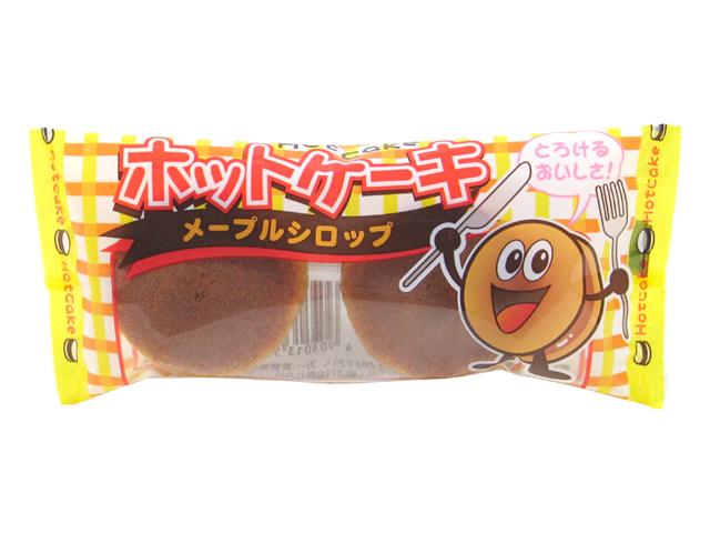"""Yaokin """"Hot Cake Maple Syrup"""", Dorayaki Maple Cream Snadwiches, 27g"""