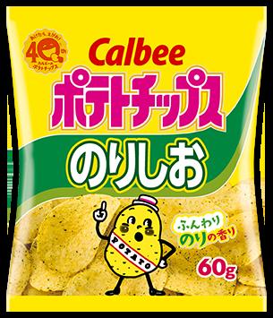 "Calbee ""Potato Chips, Seaweed (Nori) & Salt Flavor"", 60g"
