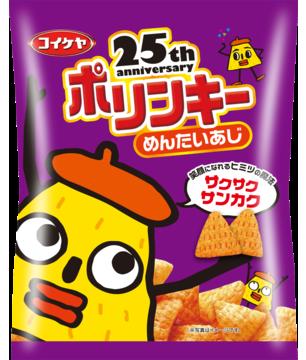 "Koikeya ""Polinky"", Mentaiko Flavor, Corn Snack, 60g"