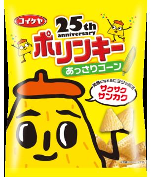 """Koikeya """"Polinky"""", Mild Corn Flavor, Corn Snack, 60g"""