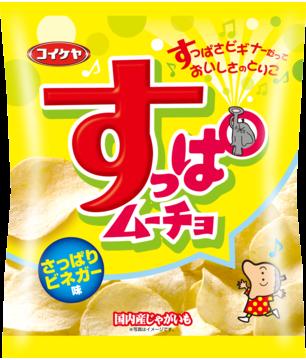 """Koikeya """"Suppa mucho"""" Vinegar Flavor, 55g"""