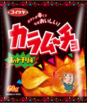 """Koikeya """"Kara mucho"""" Hot Chilli Flavor, 55g"""