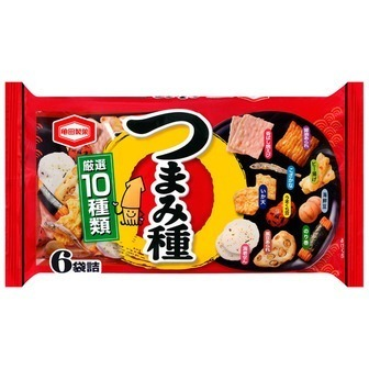 """Kameda """" Tsumamidane"""" Rice Cracker Mix, 130g"""