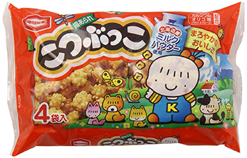 "Kameda ""Kotsubukko"" 4 packs in 1 bag, 124g"