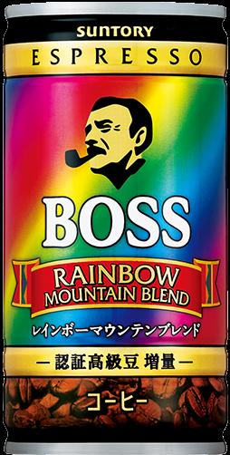 """Suntory """"Boss, Rainbow Mountain Blend"""",Coffee,  185g"""