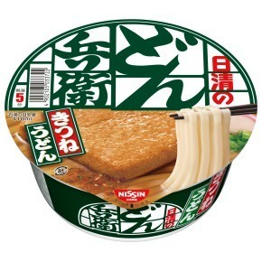 """Nissin """"Donbee, Kitsune Udon with Aburaage"""", Donbei, 96g"""