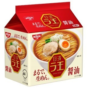 "Nissin ""Raoh, Soy Sauce Flavor"" 5 packs in 1 bag, 510g"