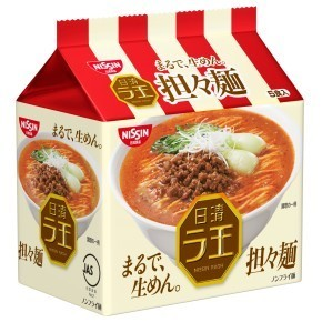 "Nissin ""Raoh,Tantan-men, Spicy sesame soup"" 5 packs in 1 bag, 485g"