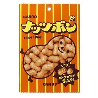 """Kanro """"Nuts Bon"""" Peanuts Hard Candy, 100g"""