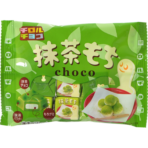 "Tirol  ""Matcha Mochi Chocolate"" 7 Pieces in 1 pack"