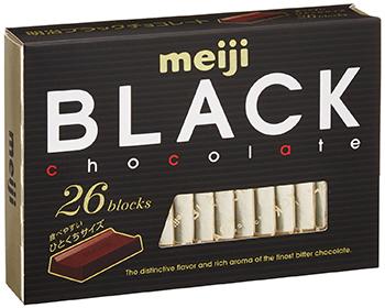 "Meiji ""Black Chocolate"" 120g"