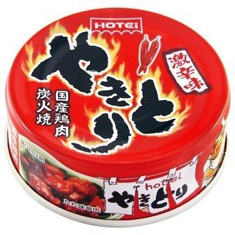 """Hotei """"Yakitori, Very Hot flavor"""" 80g"""