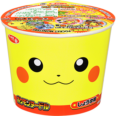 "Sapporo Ichiban ""Pokemon Noodle, Soy Sauce flavor"" 38g"