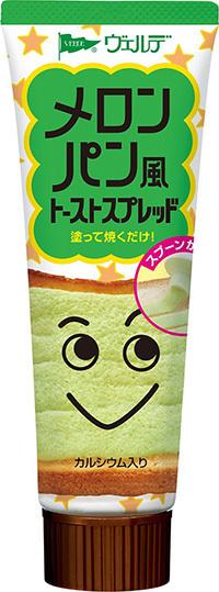 "Aohata ""Melon Pan Spread"" Sweet Cream for Toast Bread, Melon flavor, 100g"