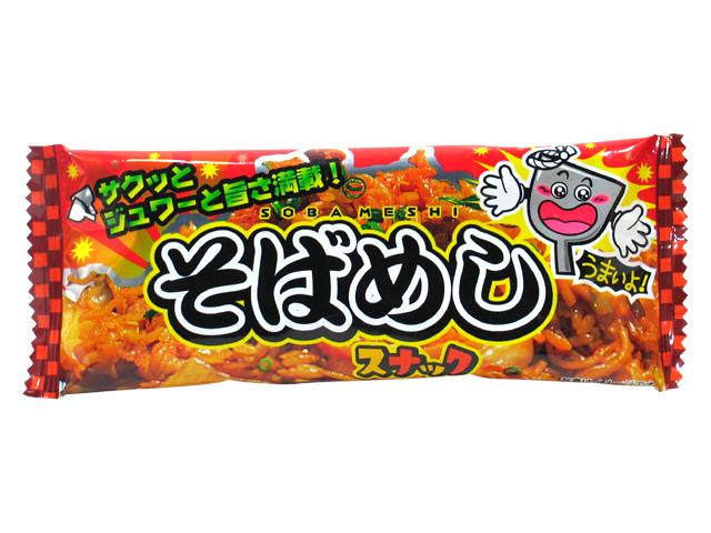 "Yaokin ""Sobameshi Snack, Yakisoba sauce flavor"" 9g"