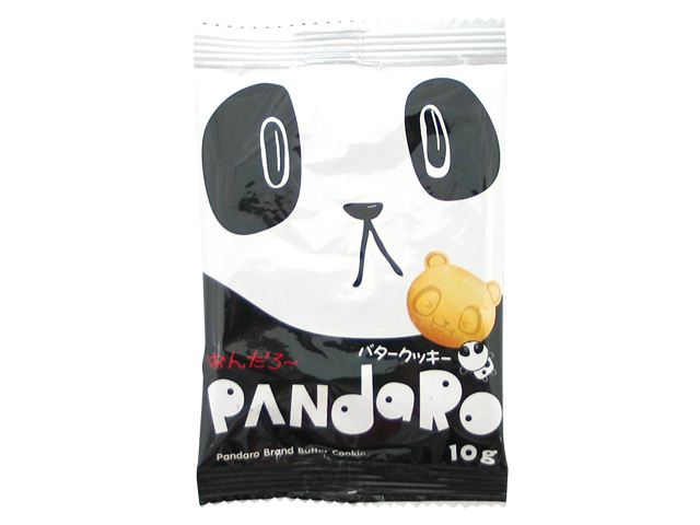 """Yaokin """"Pandaro, Butter Cookies"""" 7g"""