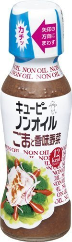 "Kewpie ""Sesame & Vegetable Non Oil Dressing"" 150ml, 310g"