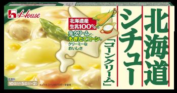 """House """"Hokkaido Stew, Corn Cream"""" Block, 180g"""