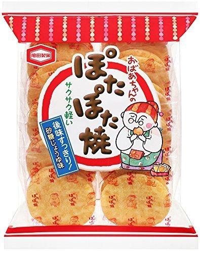 "Kameda ""Pota Pota Yaki"" Sugar and Soy Sauce Flavor Rice Cracker, 165g"