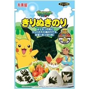"Marumiya ""Pokemon Sea weed, Nori"", with pokemon sticker, 30g"