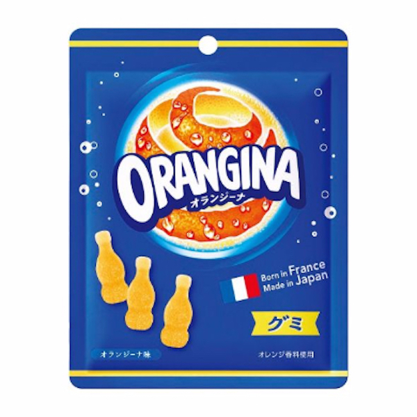 "Lotte ""ORANGINA Gummy"" 72g"