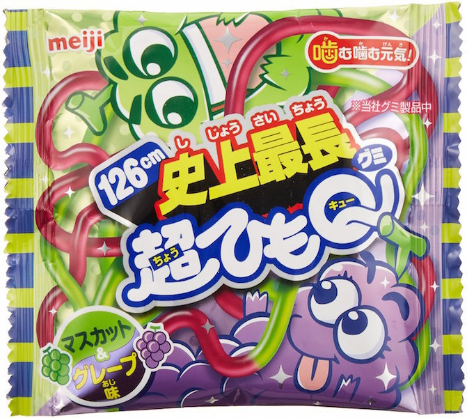 "Meiji ""Cho Himo Q, Muscat & Grape"", 29g"