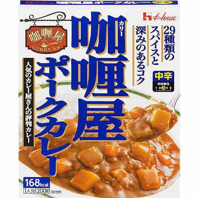 "House ""Curry-Ya, Pork, Medium hot"", Retort pack, 200g"