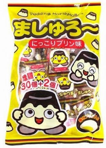 Yaokin Marshrow, Mashuro,  Pudding Marshmallow, 30pc in 1 bag
