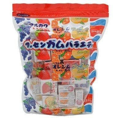 "Marukawa ""5 Flavors Fruits Chewing Gum"", 50 mini boxes in 1 bag"