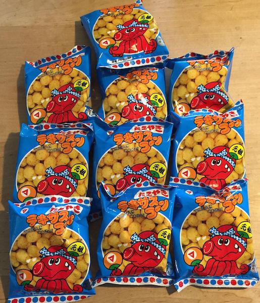 """Matsuyama Seika """"Takoyaki Texas Corn"""", 10g x 30 bags"""