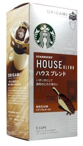 "Starbucks Japan, Origami, ""House Blend"", Personal Drip Coffee"