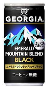 "Coca Cola ""Georgia, Emerald Mountain Black "" 185g"