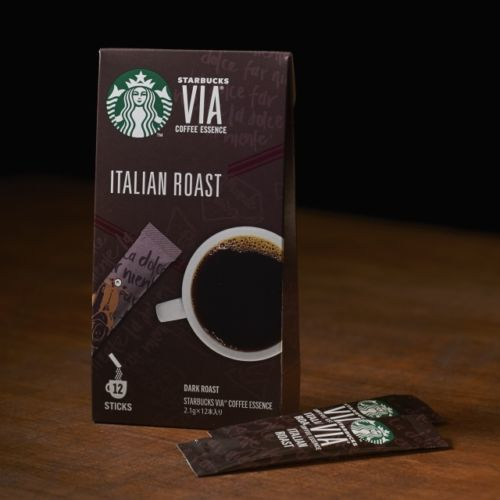 "Starbucks Japan, VIA Series, ""Italian Roast"", 12 sticks"