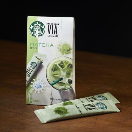 "Starbucks Japan, VIA Series, ""Matcha"", 5 sticks"