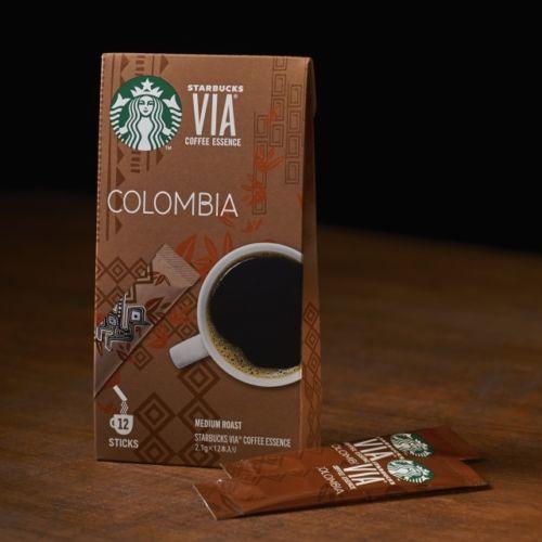 "Starbucks Japan, VIA Series, ""Colombia"", 12 sticks"