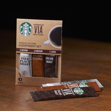 "Starbucks Japan, VIA Series, ""3 kinds Assort"", 3 sticks"