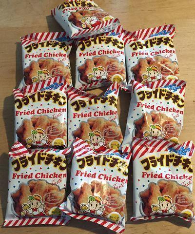 "Matsuyama Seika ""Fried Checken Texas Corn"", 10g x 30 bag"