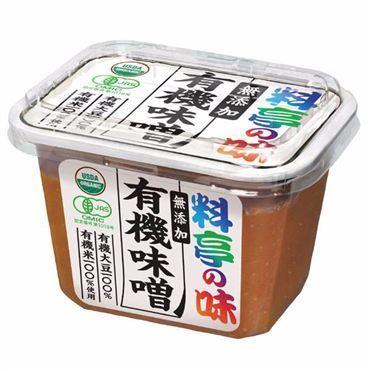 Marukome, Organic Miso, Ryotei no Aji, Yuki Miso, 375g