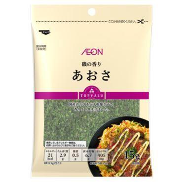 AEON, Aosa, Aonori, Seaweed Flake, 15g in 1 pack