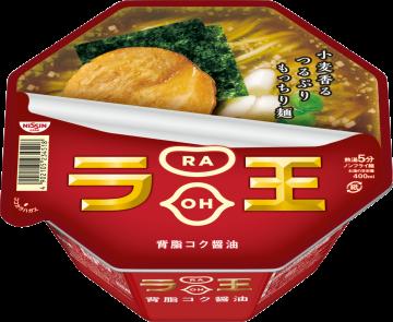 "Nissin ""Raoh, Soy Sauce Flavor"" Cup 112g"